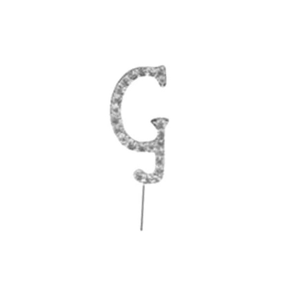 Letter G Diamante Pick