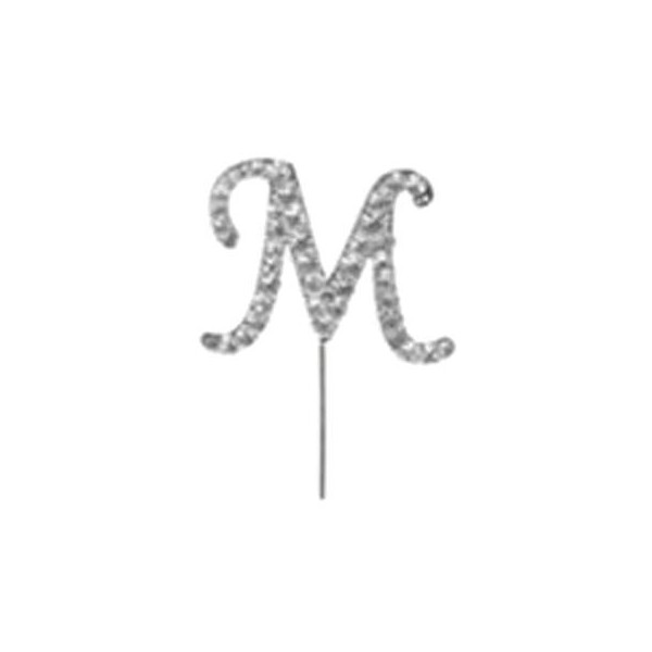 Letter M Diamante Pick
