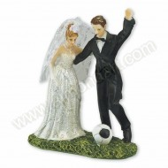 Bride & Groom Footballer