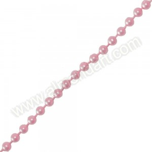 Pink Pearls On A String - 5mm x 1m