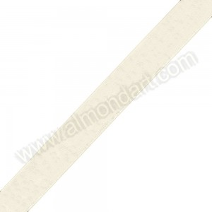 Ivory - Organza Ribbon - 23mm - 25mtr roll