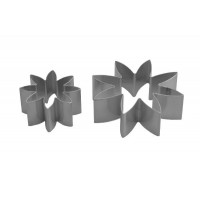 Medium 8 Petal Daisy Cutter - Set Of 2