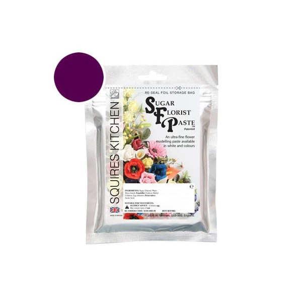 Bordeaux Flower Paste - 100g