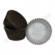 Chocolate Brown Cupcake Cases - 36pk