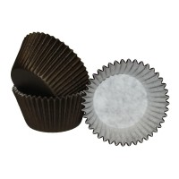 Chocolate Brown Cupcake Cases - 180pk