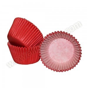 Red Cupcake Cases - 36pk