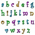 'Funky' Alphabet Lower Case