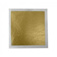 24 Carat Gold Leaf Square 3.25""