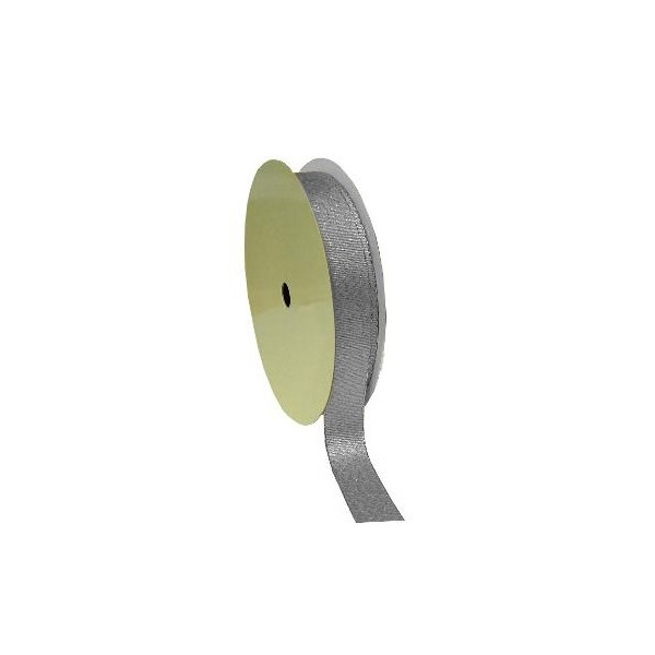 Silver Grace Ribbon - 15mm - 20m Roll