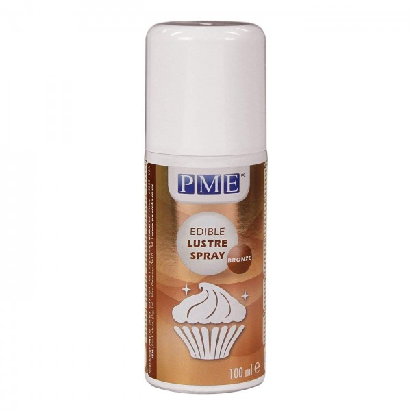 PME Bronze Edible Spray Lustre - 100ml