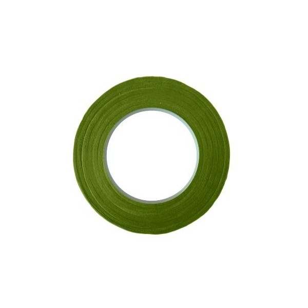 """13mm - Nile Green Floral Tape (½"""" x 30yrd)"""