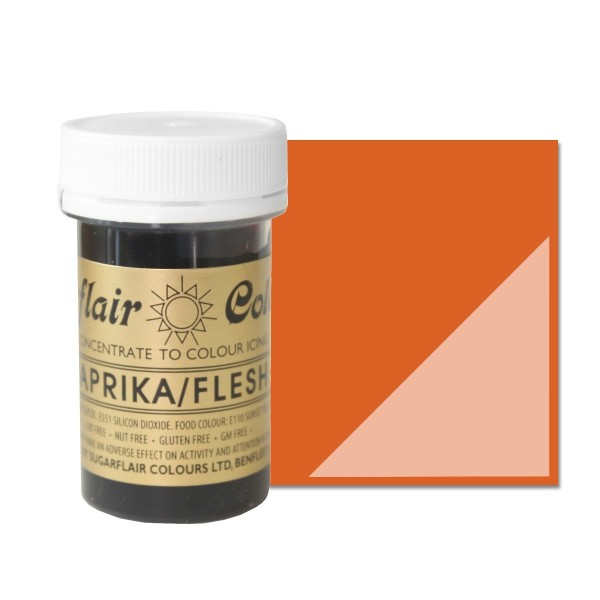 Sugarflair Paprika / Flesh Paste Colour - 25g