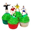 Football Decoration Set - 9 pieces