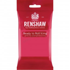 Renshaw Fuchsia Ready To Roll Icing - 250g