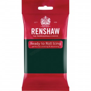 Renshaw Bottle Green Ready To Roll Icing - 250g