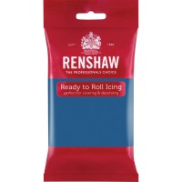Renshaw Atlantic Blue Ready To Roll Icing - 250g