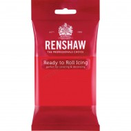 Renshaw Poppy Red Ready To Roll Icing - 250g