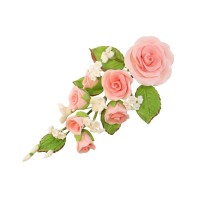 Sugar Rose Bouquet - Pink
