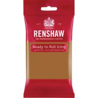 Renshaw Teddy Bear Brown Ready To Roll Icing - 250g