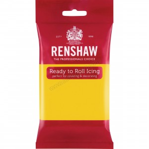 Renshaw Yellow Ready To Roll Icing - 250g