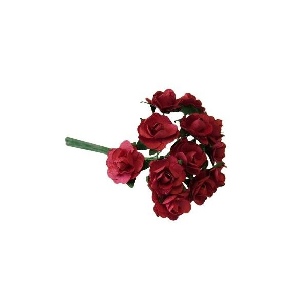 Deep Red Miniature Tea Rose - 12pk