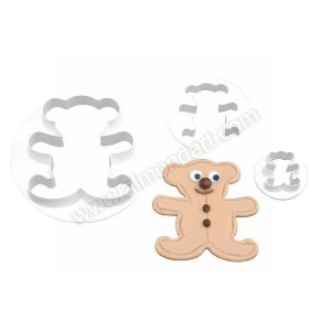 Teddy Bear Cutters - Set of 3