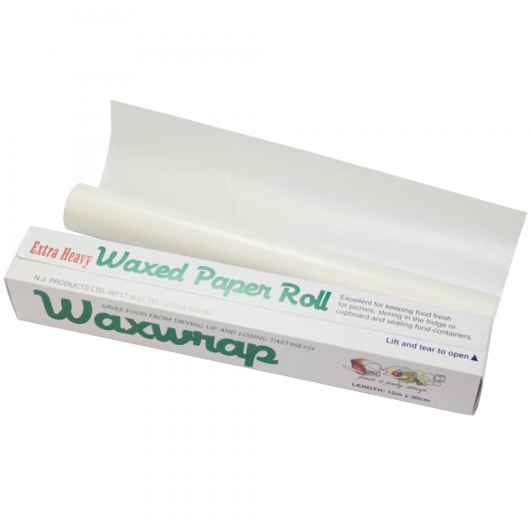 Waxed Paper Roll - 30cm x 12m