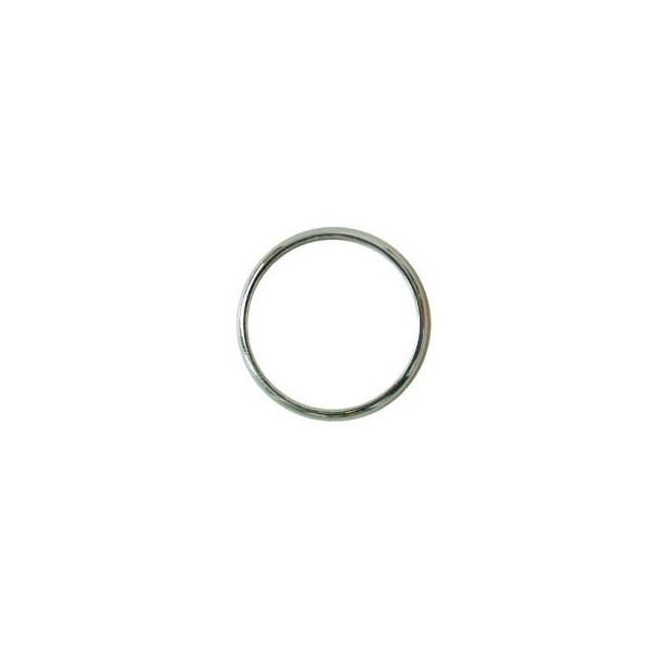 Metal Wedding Ring - Silver Effect 17mm