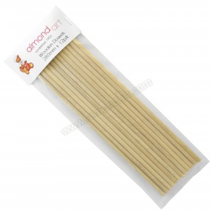 "Wooden Dowels 280mm (11"") - 12pk"