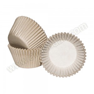 Ivory Cupcake Cases - 36pk