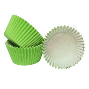 Lime Green Cupcake Cases - 36pk