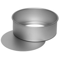 "7"" Round Loose Bottom Cake Pan"