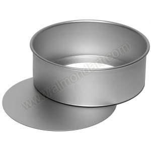 "8"" Round Loose Bottom Cake Pan"