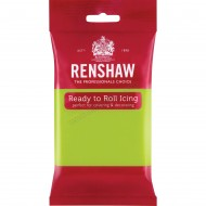 Renshaw Lime Green Ready To Roll Icing - 250g