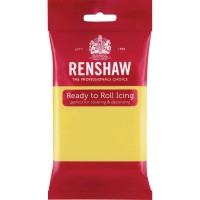 Renshaw Pastel Yellow Ready To Roll Icing - 250g