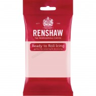Renshaw Baby Pink Ready To Roll Icing - 250g