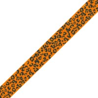 Leopard Print Ribbon - 23mm x 1m