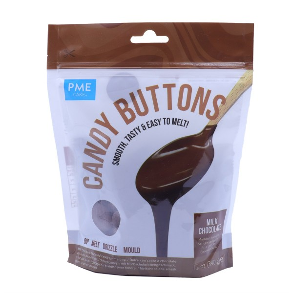 PME Milk Chocolate Candy Buttons 12oz