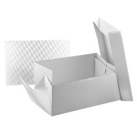"15"" x 11"" Cake Box & Oblong 3mm Board"