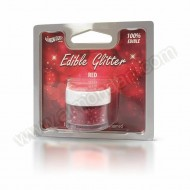 Red - Edible Glitter