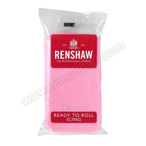 Renshaw Pink Ready To Roll Icing - 500g