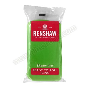 Renshaw Lincoln Green Ready To Roll Icing - 500g