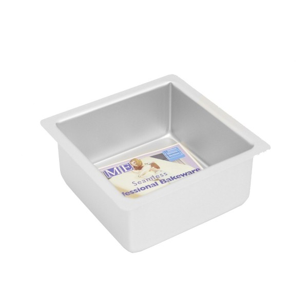 "6"" Square Cake Tin - 3"" Deep"