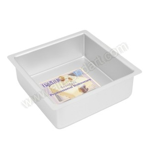 "8"" Square Cake Tin - 3"" Deep"
