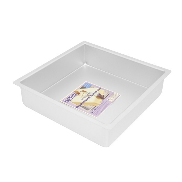 "11"" Square Cake Tin - 3"" Deep"