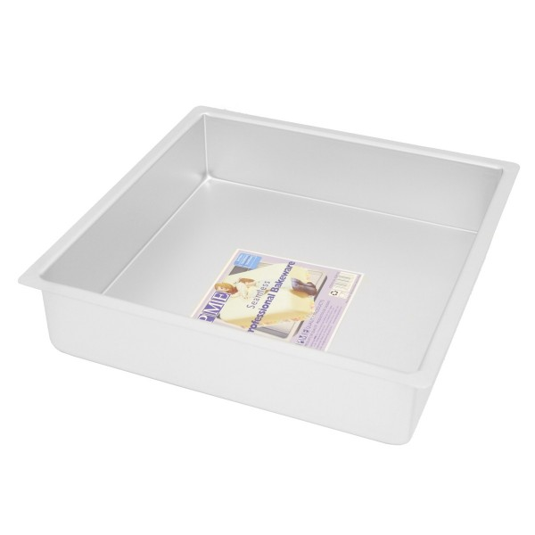 "12"" Square Cake Tin - 3"" Deep"