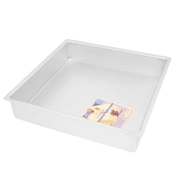 "14"" Square Cake Tin - 3"" Deep"