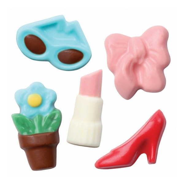 Girls World Chocolate / Candy Sheet Mould