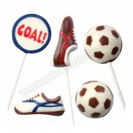 Football Chocolate / Candy Sheet Mould