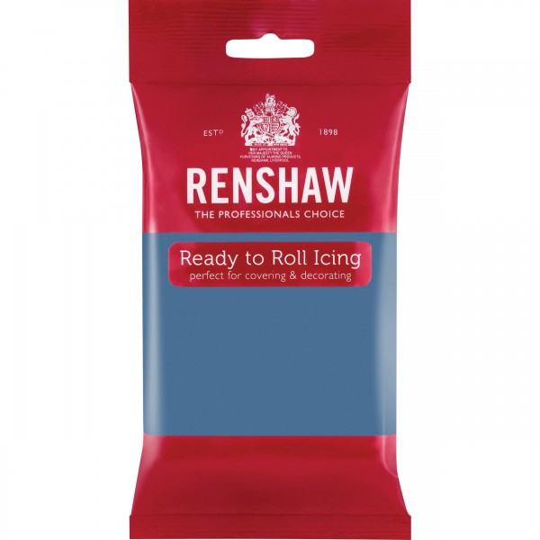 Renshaw Powder Blue Ready To Roll Icing - 250g